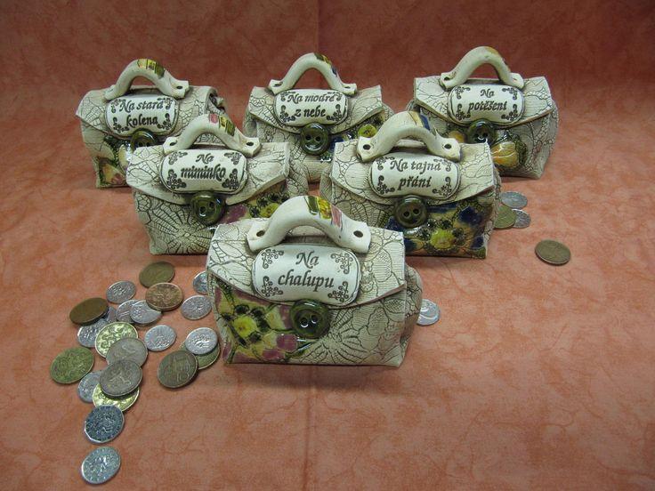 Kasička-pokladnička Tyto originální pokladničky již nějaký čas vyrábíme a jsou…