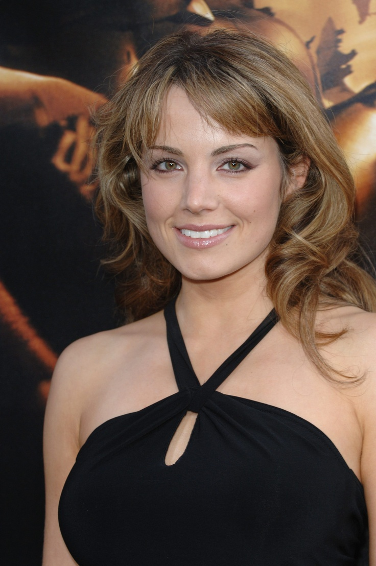 Porm celebrity hairstyles - Erica Durance