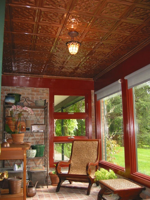 tin ceiling | Tin Ceilings from American Tin Ceilings: photo / patios