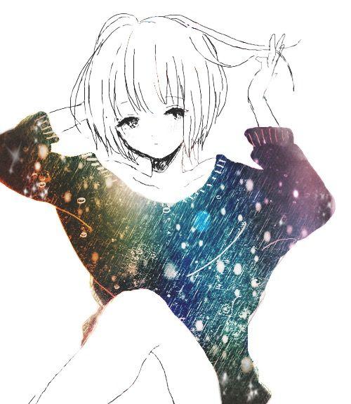 anime girl galaxy - Tìm với Google