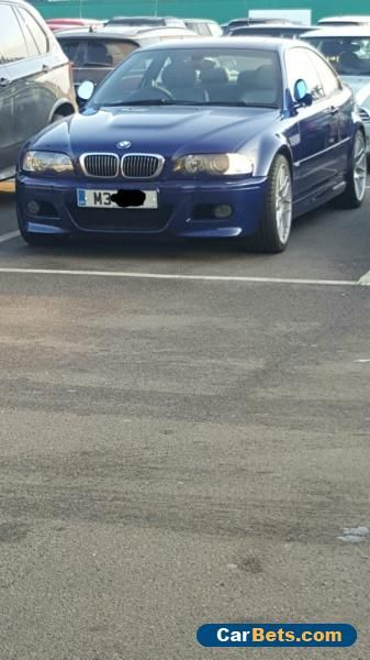 2005 BMW M3 CS Coupe SMG 3.2 Full BMW history  #bmw #m3cs #forsale #unitedkingdom