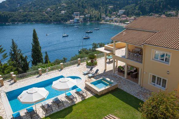 Villa Mara, Kalami, Corfu, Greece. Find more at www.villaplus.com