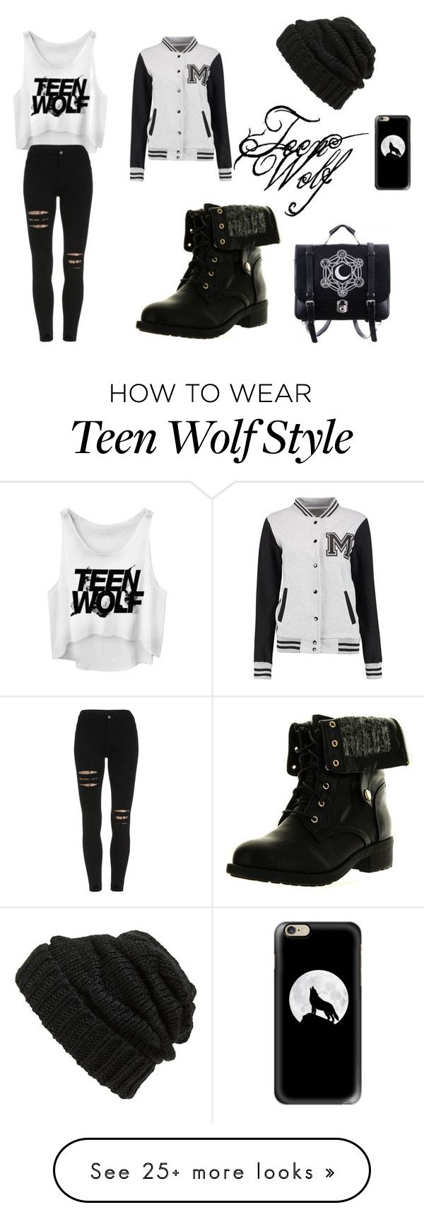"""""""Teen Wolf Highschool"""" by lonelysnowolf on Polyvore featuring Refresh, Casetify and Leith"""