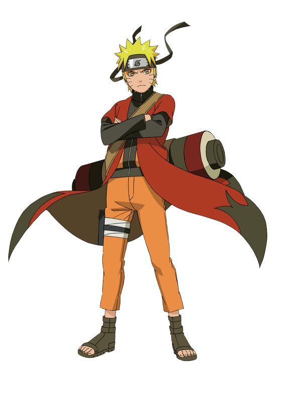 Naruto Sage Mode Render by xUzumaki on deviantART