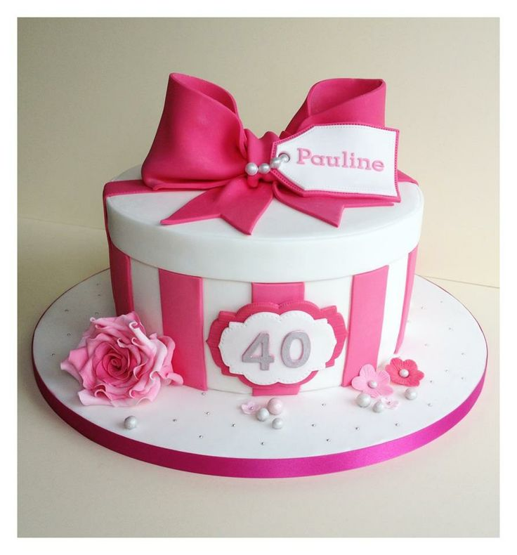 44 Best 40th Birthday Images On Pinterest Descendants Cake Petit