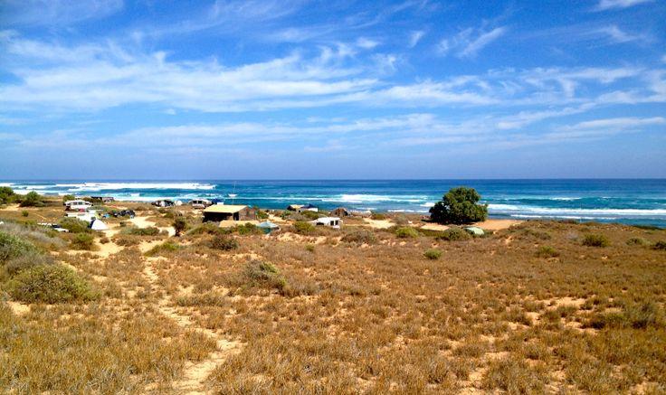 Gnaraloo 3 mile camp, Carnarvon, Western Australia