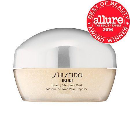 Shop Shiseido's Ibuki Beauty Sleeping Mask at Sephora. The leave-on gel mask features vitamin capsules that melt into skin.