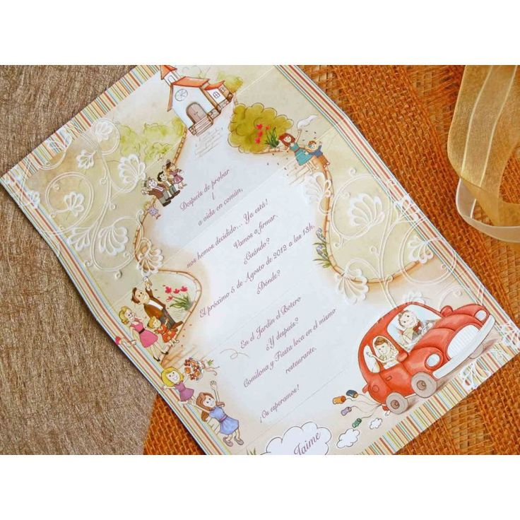 Tarjeta Invitacion de boda divertida CDDV32410.E