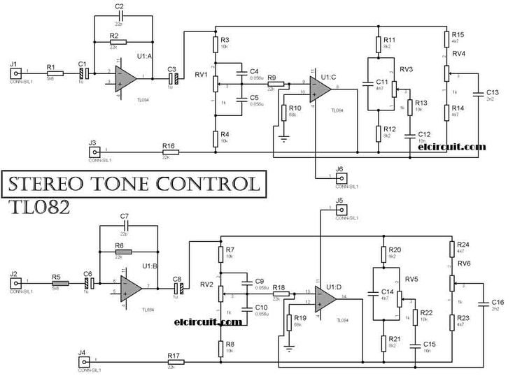 Baxandall Tone Control Circuit Moreover Stereo Fm Transmitter Circuit