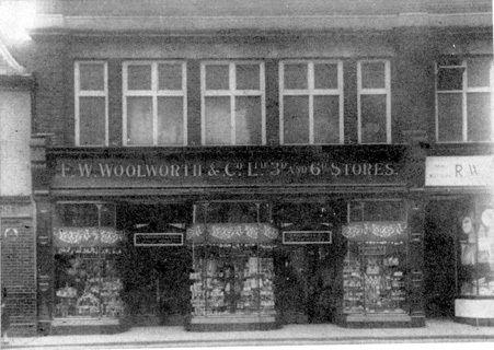 Peterborough Woolworths 1915