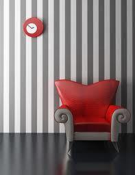 decoración con paredes rayadas - Buscar con Google