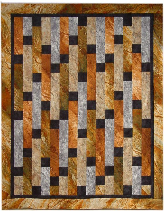 marking the quilt | The Man Quilt Pattern pdf Download by quiltedsunshine on Etsy, $7.50