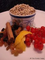 The Dutch Table: Krentjebrij Pearl barley with fruit and cinnamon