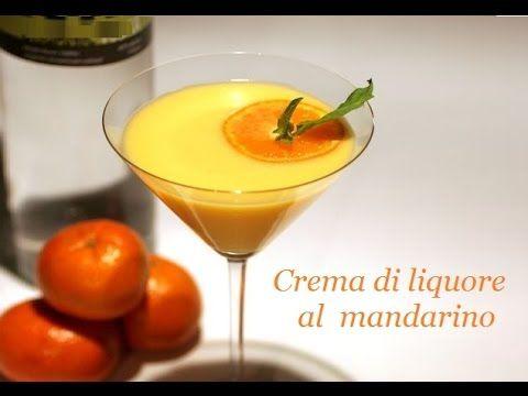 Crema di liquore al mandarino,Liquore Fatto in Casa - Homemade Mandarin Liqueur - YouTube