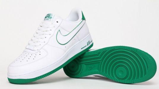 Nike Air Force 1 - White / Green