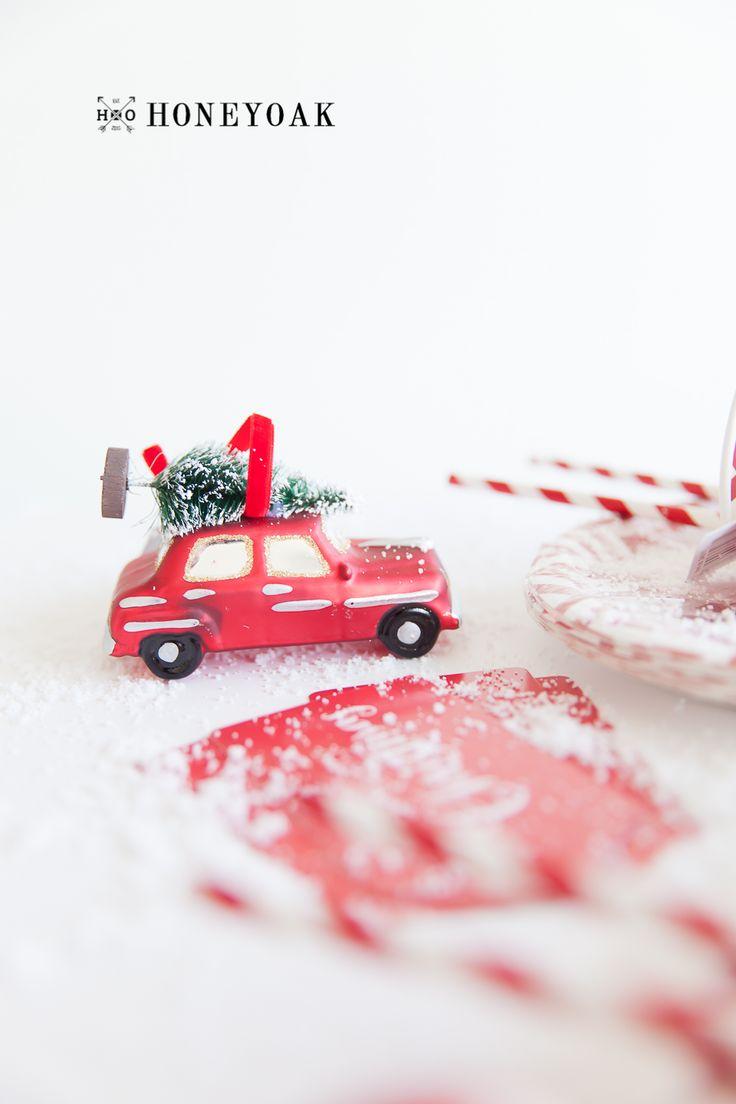 #christmasdecor #christmascar