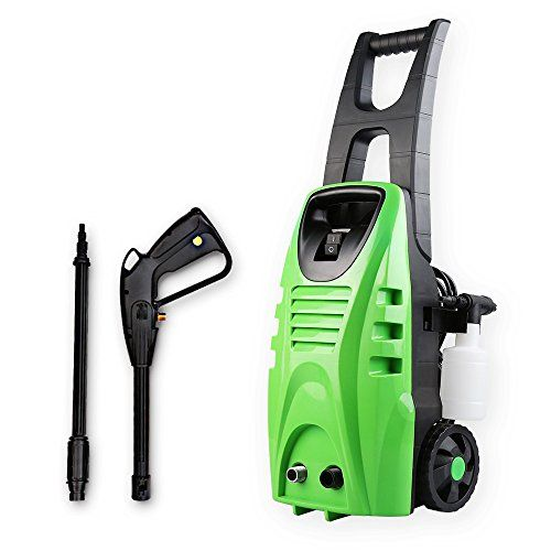 Pressure Washer, Jet Washer with Accessories Electric Pressure Washer Including Lance Hose Water Pipe Detergent for Patio Car and Garden by CAYOGA---69.99---