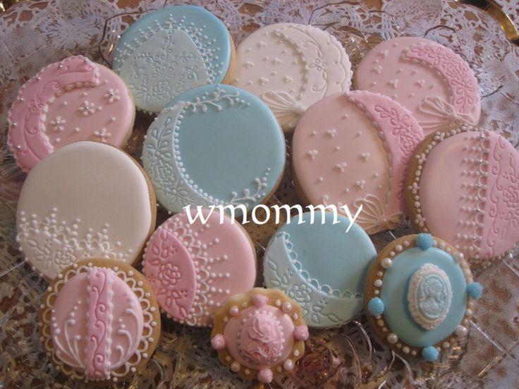 So pretty! エレガントアイシングクッキーの画像 | アイシングクッキー大好きwmommyのブログ