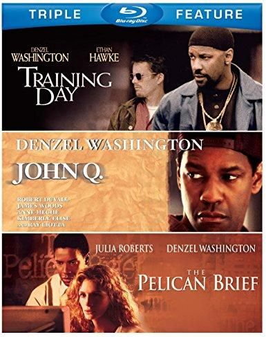 Denzel Washington Triple Feature: (The Pelican Brief / Training Day / John Q)