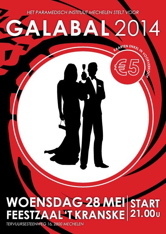 affiche stijl James Bond