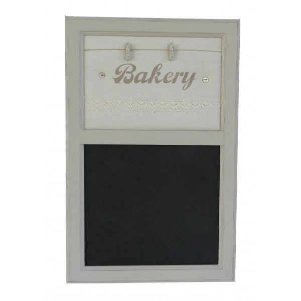 Bacheca con Lavagna in Tessuto Vintage Bakery - Decochic