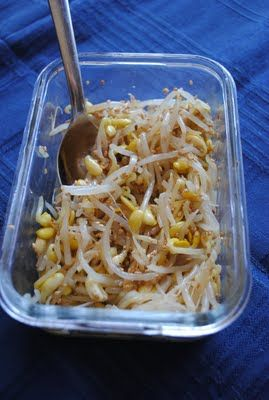 Korean Food: Mung Bean Sprout Salad
