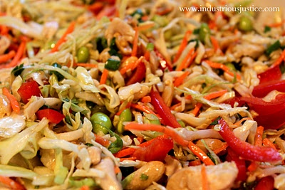 Asian Slaw with Ginger Peanut Dressing | Salads | Pinterest