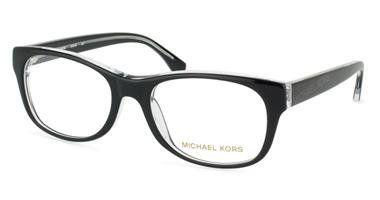 MICHAEL KORS Eyeglasses MK248 027 Black / Crystal 53MM Michael Kors. $116.30