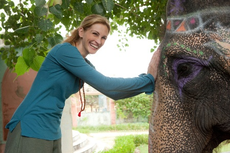 Julia Roberts in Eat Pray Love   Book = Amazing  Movie = Lost in Adaptation
