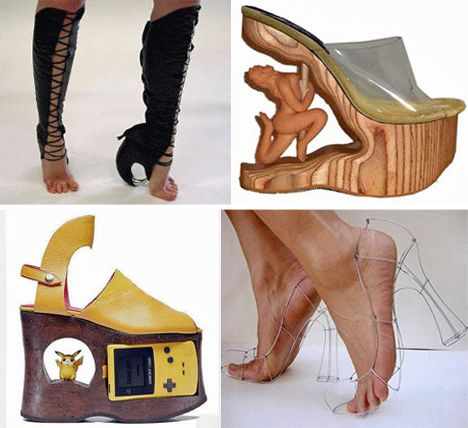 Creative Shoes: 13 of the Wildest Shoe Designs and Brands | WebUrbanist