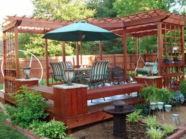 ber ideen zu terrassen schaukel auf pinterest pergola schaukel outdoor schaukeln und. Black Bedroom Furniture Sets. Home Design Ideas