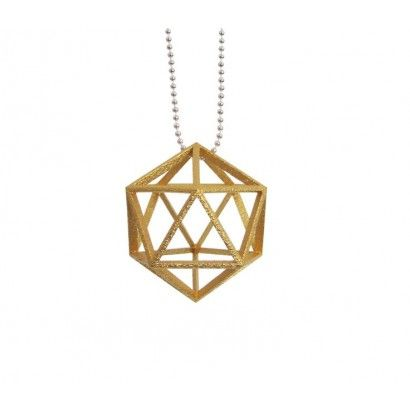 Convex Polyhedra ketting necklace www.smart3dprint.nl
