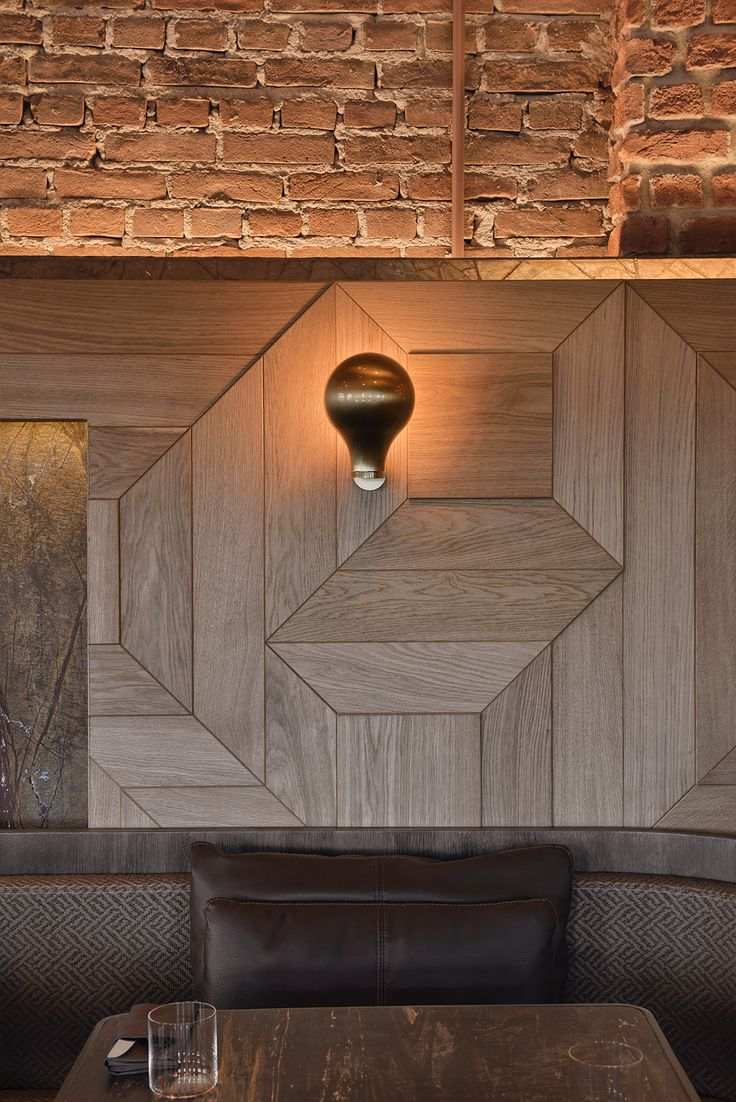 3D style wooden wall paneling and industrial lighting. The beautiful designs of Kilimanjaro, a luxury restaurant and bar located in a converted brewery, Istanbul. Designed by studio Autoban and featured on www.martynwhitedesigns.com