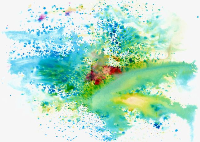 Cool Colors Splash Paint Color Background Splash Clipart Paint