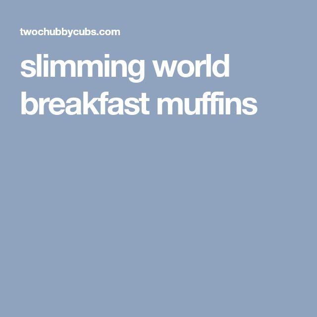 slimming world breakfast muffins