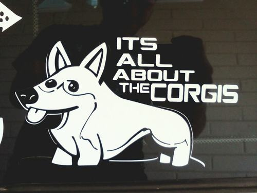 Pembroke Welsh Corgi Sticker $2.00 Goes to The Arizona Cactus Corgi Rescue $7.99 ea on eBay