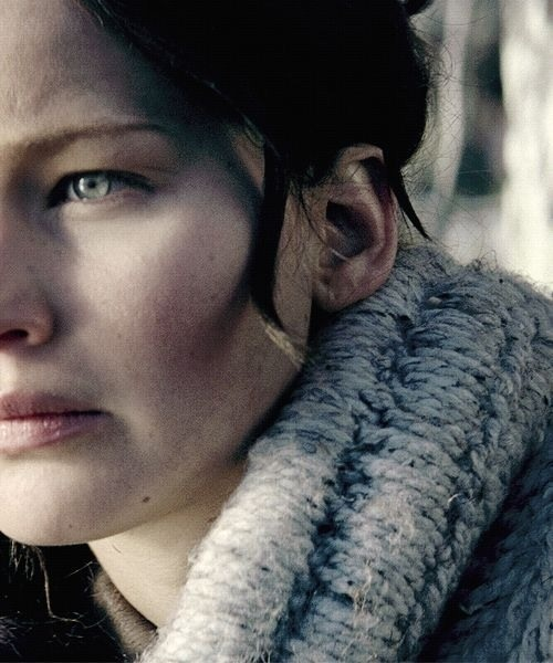 Catching fire this looks like that one shot of her from winters bone