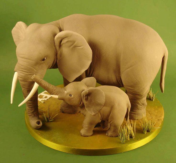 Elephants cake