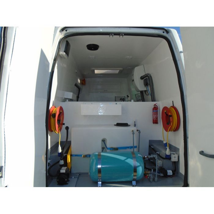 K9 Deluxe Mobile Grooming Van Conversion Grooming Dog Grooming Van