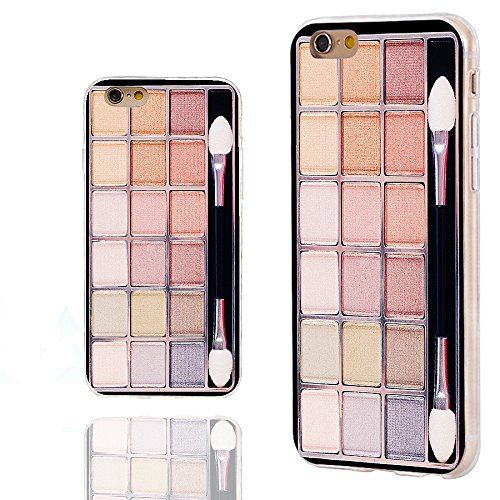 iPhone 6s Case,iPhone 6 Case,Case for iPhone 6 6s 4.7 Inch,ChiChiC [Cute Series] Full Protective Slim Flexible Durable Soft TPU Cases,funny colorful Eye shadow box. Perfect iPhone 6 6S Case, Compatible with Verizon, Sprint, T-mobile and AT&T models of the