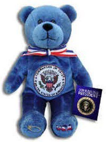 God Bless Our President Holy Bear