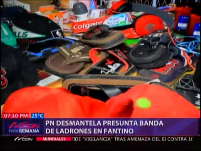 PN Apresó Lideres De Banda De Ladrones En Sanchez Ramírez #Video