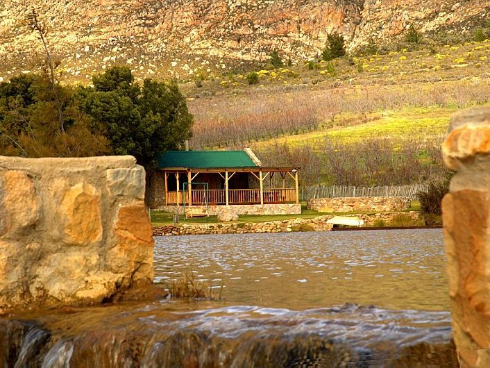 Langdam in Koo Guest Farm and Camping - Come, visit with us and relax in our Koo Paradise, near Montagu. Relax with a stroll around our Working Fruit Farm and Mountain Retreat. We're halfway up the stunning Langeberg Mountain Range and you may ... #weekendgetaways #montagu #southafrica
