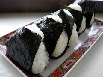 One of my favourite foods: onigiri or riceballs