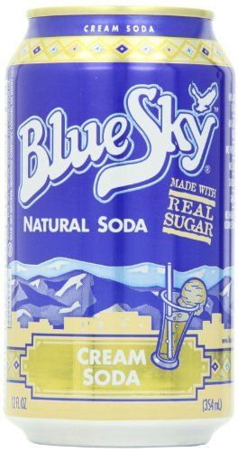 blue sky cream soda 12 ounce cans pack of 24 http