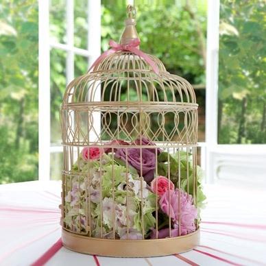 Quirky wedding table centre pieces