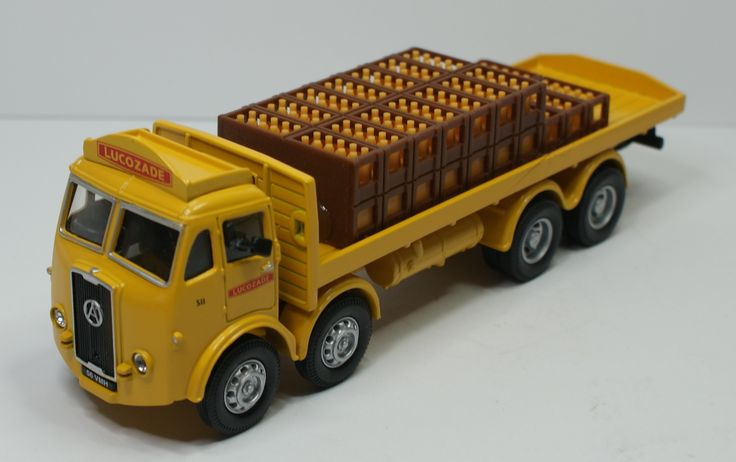 Atkinson 8 wheel Rigid With Crates Lucozade