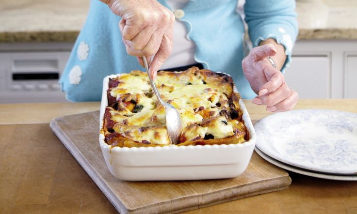 Mary Berry's family suppers: Butternut squash and spinach lasagne
