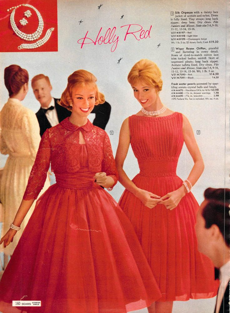 Great vintage Christmas dresses