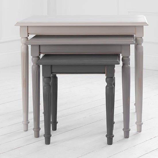 Benedict nest of tables from Voyage Maison | Nests of tables | Living room furniture | PHOTO GALLERY | 25 Beautiful Homes | Housetohome.co.uk